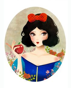 Snow White by ~melina-m on deviantART