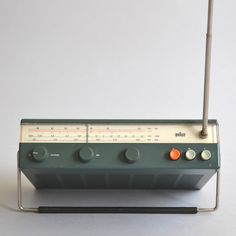Dieter Rams . T 50, for Braun, 1961