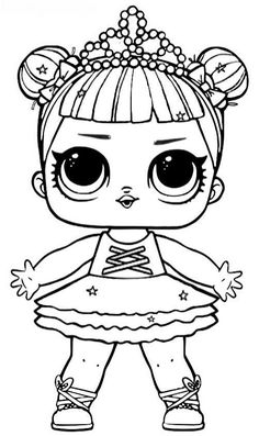 Wonderful Photo of Lol Coloring Pages . Lol Coloring Pages Lol Surprise Dolls Coloring Pages Print Them For Free All The Series Dinosaur Coloring Pages, Cute Coloring Pages, Free Printable Coloring Pages, Free Coloring, Adult Coloring Pages, Coloring Pages For Kids, Coloring Books, Doll Drawing, Doll Party