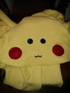 Video Game Cute Monster Child/Teen/Adult Sized Hooded Terry Cloth Towel by GeekOUTlet on Etsy