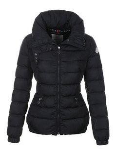 40c0ce22e994 Cheap 2012 New Moncler Epine Jackets Women Black For Sale, Moncler Outlet  Online