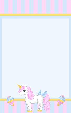 CUTE perfect for Mia <3 Unicorn Stationary, Stationary Printable, Unicorn Invitations, Birthday Invitations Kids, Diy Invitations, Unicorn Birthday, Unicorn Party, Unicorn Printables, Rainbow Wallpaper