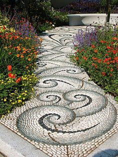 swirl pattern - I want this! LOVE it!