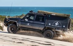 Toyota Camper, Toyota Lc, Toyota Hilux, 4x4, Land Cruiser 70 Series, Camping, Toyota Land Cruiser, Rigs, Cars And Motorcycles
