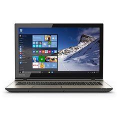 """Toshiba Satellite S55T S55TC52504K 15"""" Laptop. Intel Core i7-4720HQ 2.6 GHz. 12 GB DDR3L SDRAM. 1000 GB 5400 rpm Hard Drive. 15-Inch Screen, HD 4600 Graphics. Windows 10."""