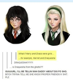 I laughed SOOOO hard when I saw this! XD But then everyone else in the room got mad because they couldn't hear the tv. :/ -- Harry Potter