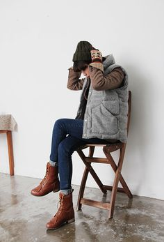 casual outside outfit Weekly Outfits, Winter Outfits, Winter Wear, Autumn Winter Fashion, Streetwear, Modern Hepburn, Camping Outfits, Cold Weather Outfits, Look At You