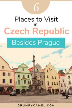 Check out these 6 beautiful places to visit in Czech Republic besides Prague, including the fairytale-like town of Cesky Krumlov and the spa town of Karlovy Vary. Places In Europe, Europe Destinations, Best Places To Travel, Cool Places To Visit, Europe Travel Guide, Travel Guides, Travel Advice, By Train, European Travel