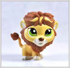 Littlest Pet Shop Collection Lion Child Girl Figure Cute Toy Loose RARE LPS548 | eBay