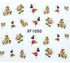 Nails - NAIL ART - WATER TRANSFER - FLOWERS for sale in Virginia (ID:219570800) Flowers For Sale, Water Transfer, Virginia, Nail Art, Nails, Creative, Finger Nails, Ongles, Nail Arts