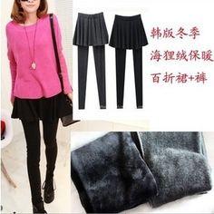 http://sewtop.com/fake-two-bottom-pants-skirt-pants-slim-extra-large-extra-large-lady-spring-korea-skirt-put-on-large-waist-skirt-pants-p-889.html