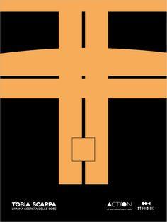 Copertina Pigreco Tobia Scarpa Documentario Carlo Scarpa, Symbols, Posters, Peace, Graphics, Illustrations, Inspiration, Design, Art