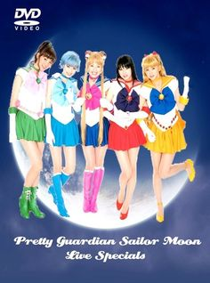 4 Specials PRETTY GUARDIAN SAILOR MOON Live Action complete all English SUB | eBay  Price:US $19.99