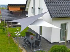 8 Fabulous Tips and Tricks: Roofing Top Rooftop Bar roofing top rooftop bar.Stained Glass Roofing concrete shed roofing.Easy Shed Roofing. Patio Sails, Patio Pergola, Patio Roof, Pergola Plans, Backyard Patio, Pergola Kits, Pergola Ideas, Roof Ideas, Backyard Shade
