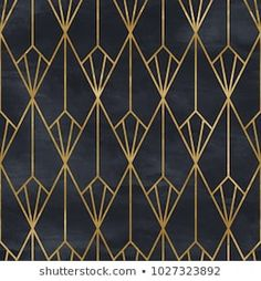 art deco interior Seamless Geometric Pattern On Paper Texture em ilustrao stock 1026683881 - Shutterstock Motif Art Deco, Art Deco Pattern, Art Deco Design, Geometric Patterns, Estilo Art Deco, Interiores Art Deco, Art Deco Artwork, Art Deco Stil, Galaxy Painting