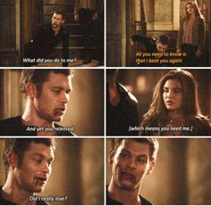 """#TheOriginals 2x08 """"The Brothers That Care Forgot"""" - Klaus and Davina"""