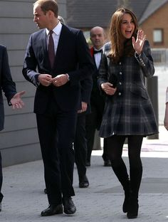 Will and Kate in Scotland.