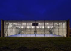 Lardy Sports Hall by Explorations Architecture
