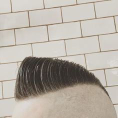 Wake Up and Smell the Barbicide Shaved Sides, Shaved Head, Psychobilly Hair, Haircuts For Men, Men's Haircuts, Disconnected Haircut, Popular Mens Hairstyles, Shaving Your Head, Clean Shaven