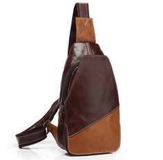 Find More Crossbody Bags Information about Fashion Men Chest Pack Leather Casual Men Bag Outdoor Cowhide Sling Shoulder Messenger Cross body Bag for man,High Quality bag hose,China bag tassel Suppliers, Cheap bag pp from KingDelux Factory Store on Aliexpress.com - handbags, gucci, spring, frye, burberry, coach purse *ad