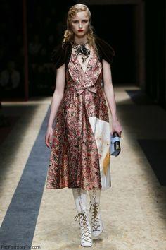 77af2b2247a21 Prada fall winter 2016 collection – Milan fashion week