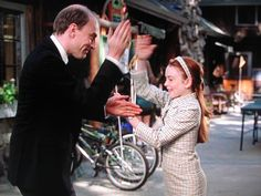 Learned this hand shake from the Parent Trap