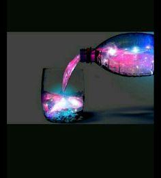 #universo #bottiglia #colore