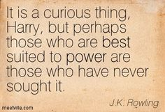 dumbledore it is a curious thing   It is a curious thing, Harry, but perhaps those who are best suited to ...