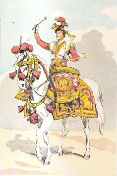 French; Imperial Guard, 1st Regiment of Polish Chevau- Légers Lanciers, Kettle Drummer.