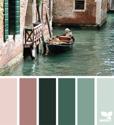 { color canal } image via: @peoniesncream