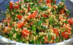 آشپزی خلاق: سالاد بلغوریانو