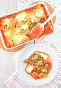 Gnocchi oven dish - Gnocchi ovenschotel met spinazie en mozzarella - Laura's Bakery