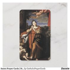 Agnes of Rome 1 Prayer Cards For Funeral, Funeral Prayers, Female Catholic Saints, St Agnes, Catholic Prayers, Business Card Size, Sympathy Cards, Paper Texture, Rome