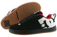 DC Men s Court Graffik 300529 Fashion Sneaker Black White Gum Skaterboarding d4fba8200