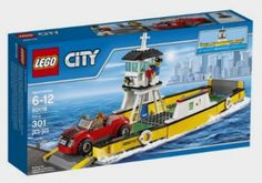 LEGO CITY Ferry 60119: Toys Amazon http://fave.co/2cEmDXI