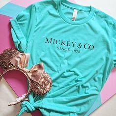 Mickey & Co/ Disney Shirt / Magic Kingdom Shirt / Mickey Mouse Shirt / Disney Vacation Shirt / Mickey Ears Disney World Outfits, Cute Disney Outfits, Disney Fashion, Disney Vacation Outfits, Disney Clothes, Disneyland Outfits, Disney World Shirts, Disneyland Shirts, Girls Vacation