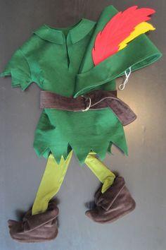Felt peter pan costume tutorial..