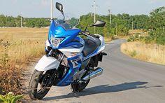 Kékfehér Villámlás: Suzuki Inazuma 250F premier teszt