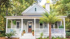 Why We Love House Plan 1254 - Southern Living Coastal House Plans, Southern Living House Plans, Beach House Plans, Country House Plans, Cottage Style House Plans, Bungalow House Plans, Cheap House Plans, House Plans One Story, Modern House Plans