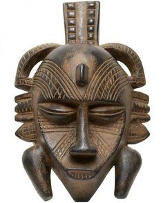 Masque africain : senufo / sénoufo    Provenance: Côte Ivoire