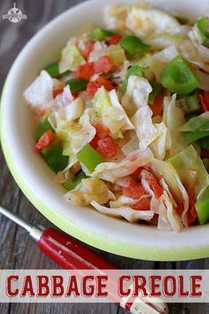 Cabbage Creole - Pinterest