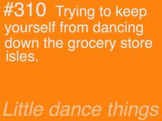 Little Dance Things- Every day