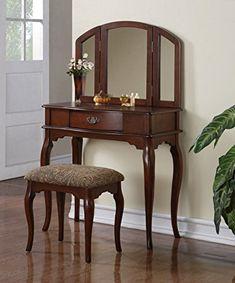 Powell Marquis Cherry Bedroom Vanity Set Furniture Pinterest Vanities And Bedrooms