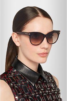 cd959da2cce1 TOM FORD - Saskia cat-eye acetate sunglasses