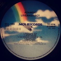 #nowspinning Adamski - Liveandirect - Magik Piano. MCA Piano: MCL 1900 (1989). I first heard this track on a mixtape doing the rounds in Ipswich in 89/90. Quality intro tons of high-hat into the big bass and break. Income on the piano up to the breakdown. When it drops back you get and the tweaking  pads come in you get a real rush hairs on back of neck stylee. The best track on the album which was recorded at various raves and clubs across the UK and Ibiza. So that is real crowd noise on…