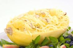 Craving Carbs? Try These Ideas Instead: Spaghetti squash is not only low in carbs, but much richer in nutrients compared to pasta.