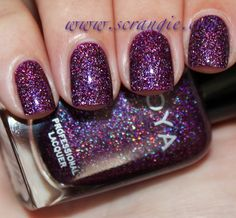 Zoya Aurora from Scrangie: Zoya Ornate Collection Holiday 2012 Swatches and Review