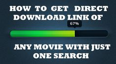 In this Google Search tricks, you would find how to find direct Download link of any movie. This tutorial must save a lot of time when you search a movie on Google.