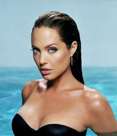 One of the most awe inspiring, beautiful women in the famous world, Angelina Jolie
