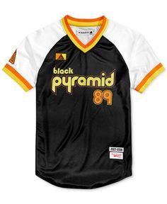 Black Pyramid Baseball Jersey (#89)